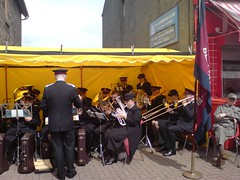The Band at the Bellshill Gala Day