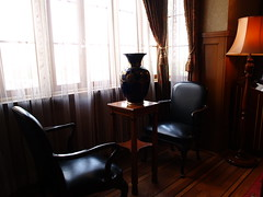 antique style (umitomo) Tags: light 15fav window japan table chair furniture antique room curtain einstein pot sofa 100views jug 300views 200views seethrough elegant hangings alberteinstein  kitakyusyu 1454mm 1454mmf2835