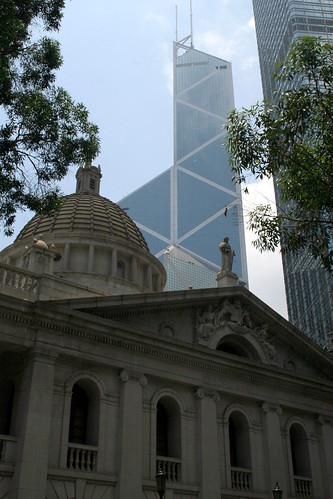 I.M. Pei's Bank of China Tower