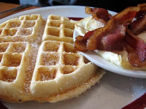 Cafe on Park Waffle