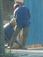 obrero3477 (Tomilee Boots) Tags: gay fetish boots goma rubber cruz obrero worker gaviota waders gummistiefel bottes botas workman haro cuissardes