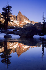 Minaret Lake (copeg) Tags: camping lake forest clyde high bravo searchthebest adams minaret nevada sierra national backpacking wilderness minarets alpenglow anseladamswilderness ansel inyo naturesfinest blueribbonwinner specland minaretlake sierravisions