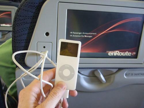 ipod charging