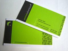 animal adventure (dailypoetics) Tags: businesscards