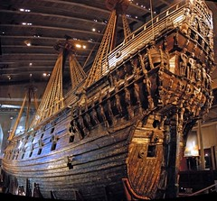 Vasa (AbhijeetVardhan) Tags: autostitch history war ship nikond70 sweden stockholm tragedy sunken warship gunship vasa vasamuseum blueribbonwinner supershot flickrsexplore shipdesign