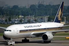 Singapore Airlines 777 9V-SVK