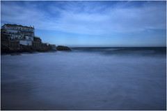Into the Blue (hisdream) Tags: stives cornwall bigstopper smoothsea blue