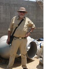 L'ingegnere Guido Casanova a Gaza