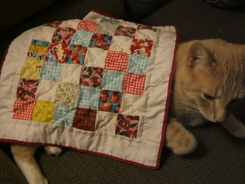 doll quilt or cat quilt?