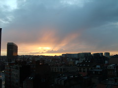 Brussels at dawn 2 (Daphne Wayne-Bough) Tags: from brussels st views sunrises josse