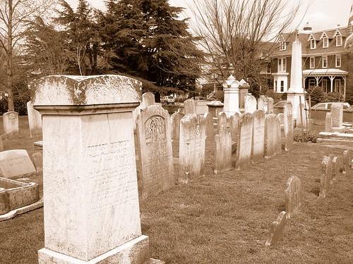 Lewes churchyard