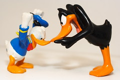 Fowl Play (EltonHarding) Tags: birds kids toys duck fight funny comedy raw play no anger disney donald angry characters daffy noses tunes fighting looney figures donaldduck daffyduck cartoons kiddie debate foul toons shout temper argue beaks dispute disagree instantfave img0102 argueing top20alltoys tiltebh ppdonaldduckkeyring