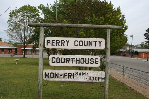 Perry County, Arkansas Court House