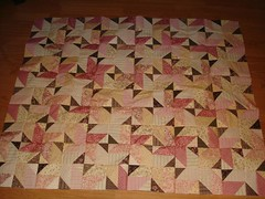 star quilt without borders lap size