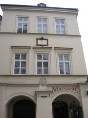 Mozarts House in Prague