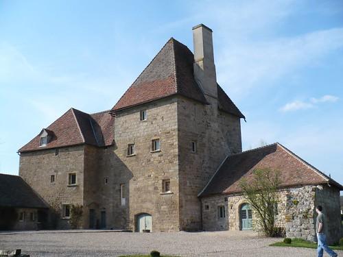 Corps principale du chateau de Lally