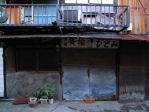 錆びた軒下2 2
