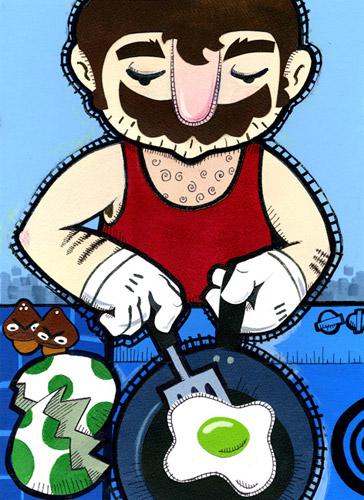 Mario's Breakfast