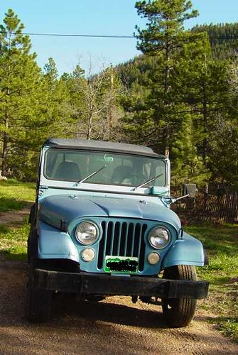 Chas Clifton - '73 Jeep CJ-5