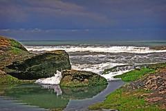 Eternal memories... (carf) Tags: blue sea sky water inmemory movement rocks waves horizon diego ripples eternity eternal