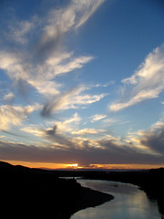 Dancing with Clouds (Rod Chile) Tags: chile sunset clouds ro river skyscape atardecer explore nubes campo 48 bobo flickrsbest superbmasterpiece