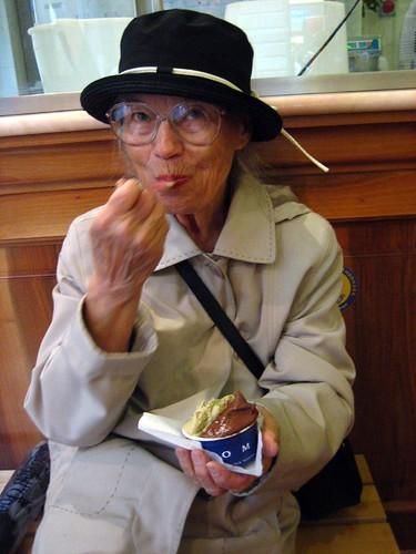 Nana liked Grom.
