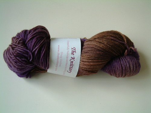 The Knittery- Merino Cashmere Chocolate Royale