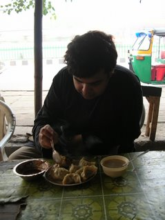 Momos at Majnu ka Tila