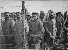 View WWI: German Prisoners in a French Prison Camp, ca. 1917-1919 (NARA) on Flickr