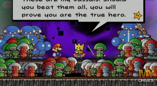 Help With Paper Mario Help With Paper Mario For Wii