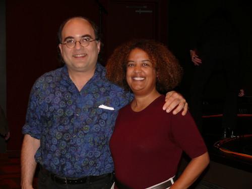 With Josh Kornbluth