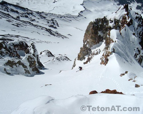 Randosteve drops into the Trinity Chutes