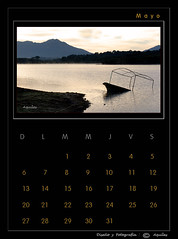 May Calendar Black