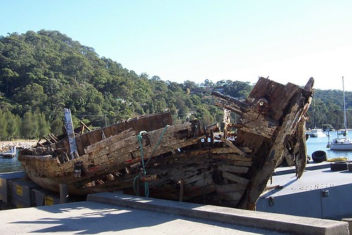 Wreck of the Lady Kendall/Lenna Koolewong Foreshore Reserve 4th May 2007
