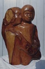 Maternal Love (bryanilona) Tags: wood art love carving elm singlemother anawesomeshot