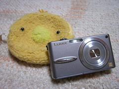 New camera とケース