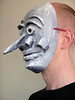 How to make a paper mache mask