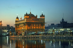 Golden Temple before Sunrise (Manny Pabla) Tags: travel winter vacation people india heritage rural sunrise canon landscape rebel asia village indian faith culture belief landmark sikh sahib punjab amritsar sikhism goldentemple punjabi guru beliefs northindia pind darbarsahib panjab saini canoneosdigitalrebelxti poolofnectar thetempleofgod