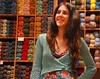 Irini's linen bolero (sifis) Tags: summer colour shop nikon knitting linen lace athens yarn greece jacket d200 cardigan shrug bolero handknitting yarnshop sakalak πλεκω πλεκτο νημα