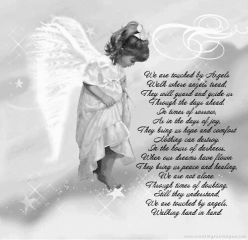 Baby Angels in Heaven Poems http://www.flickr.com/groups/inmemoryofourlostchildren/discuss/72157594511120065/