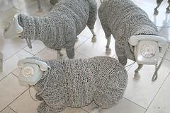 telephone sheep (loop_oh) Tags: germany sheep frankfurt telephone communication kommunikation museumfürkommunikation museumofcommunication
