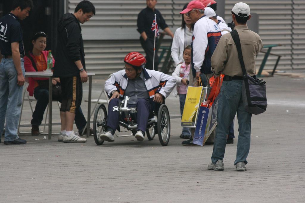 Three Wheeled Recumbent Bike