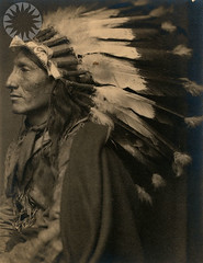Portrait of Native American by public.resource.org, on Flickr