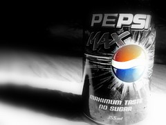 Pepsi MAX (Waseef Akhtar) Tags: blue light shadow red blackandwhite sunlight macro colors catchycolors photography glow sony shades 101 pepsi akhtar pepsimax waseef sonydscs650