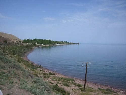 Issyk Kul's shores