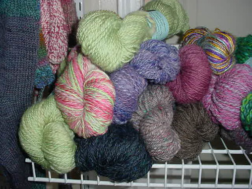 Beautiful soft colors in Hand Spun Yarn