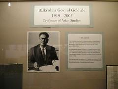 Dr. Balkrishna Gokhale, 1919-2005