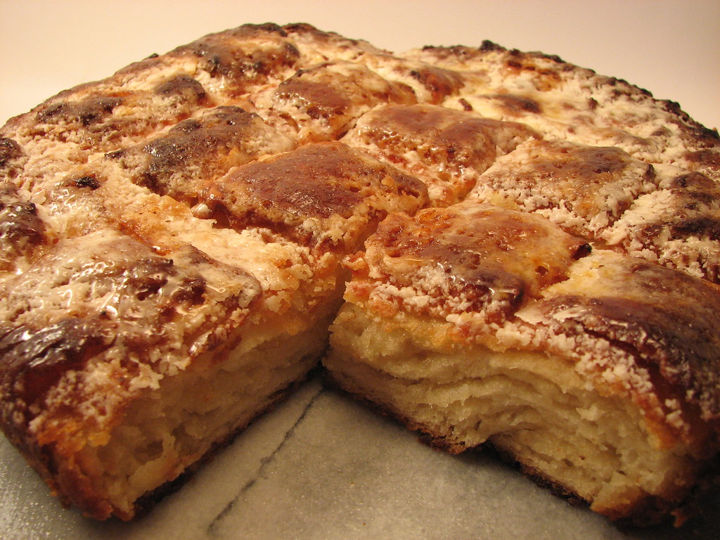 sugar crusted breton butter cake
