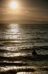 Row Boat, Coromandel Peninsular (menickstephensorg) Tags: sunset sea newzealand beach boat row rowing coromandel cokin neutraldensity greygrad