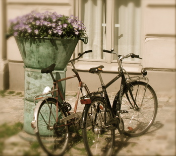 Bicycles in Stockholm
